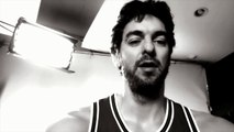 VÍDEO: Pau Gasol canta Imagine de John Lennon