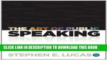 Collection Book The Art of Public Speaking, 11th Edition