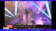 Thalía desprecia a fan homosexual durante un concierto