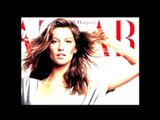 Behind-The-Scenes with Gisele Bundchen at the Harpers Bazaar Cover Shoot