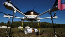 UPS tests drone delivery of medicine in Massachusetts - TomoNews