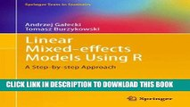 [PDF] Linear Mixed-Effects Models Using R: A Step-by-Step Approach (Springer Texts in Statistics)