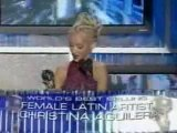 Christina Aguilera Best Selling Female Latin Artist@WMA