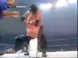 Rey Mysterio vs The Great Khali (Batista & Finlay Interference)