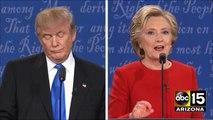DT- Saving money on Anti Clinton Commercials Presidential Debate - Donald Trump vs. Hillary Clinton