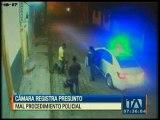 Cámara registra presunto mal procedimiento policial en Santo Domingo