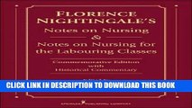 [PDF] Florence Nightingale s Notes on Nursing and Notes on Nursing for the Labouring Classes: