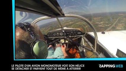 Le pilote d'un avion monomoteur voit son hélice se détacher en plein vol et parvient tout de même à atterrir (vidéo)