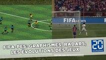 FIFA-PES: Graphismes, corners, radars, les évolutions majeures des jeux