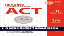[PDF] ACT Reading Practice Book (Advanced Practice Series) (Volume 5) Full Online