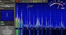 Λούξ Νίκος στους 1670 khz .Ισχύς σήματος κατά την διάρκεια της λήψης  έως 72 db !!