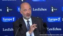 Plus de démocratie européenne ce n'est pas plus de référendum d'après Pierre Moscovici