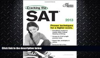 different   Cracking the SAT, 2013 Edition (College Test Preparation)