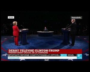 Clinton vs Trump La moitié des américains vivent au jour le jour