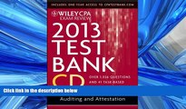 READ book Wiley CPA Exam Review 2011 Test Bank CD , Auditing