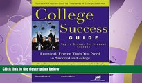 FULL ONLINE  College Success Guide: Top 12 Secrets For Student Success