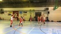 Basket-ball: RBC Haneffe - Gallia Beez (la fin du match)