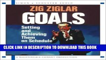 [PDF] Goals: Setting And Achieving Them On Schedule Full Online