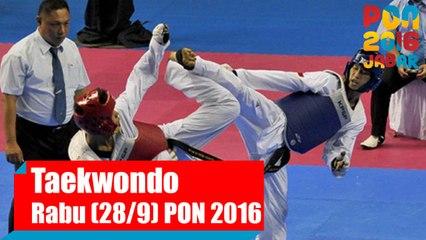 Taekwondo - Rabu (28/9)