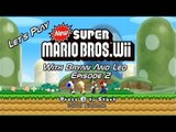 Let's Play New Super Mario Bros. Wii - Episode 2 - With Bryan and Leo
