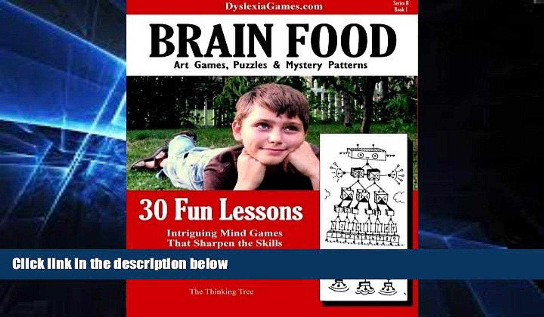 Big Deals  Dyslexia Games - Brain Food - Series B Book 1 (Dyslexia Games Series B) (Volume 1)