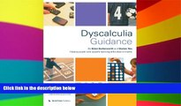 Big Deals  Dyscalculia Guidance: Helping Pupils with Specific Learning Difficulties in Maths  Free
