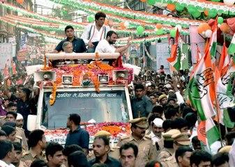 Watch: Local hurls a shoe at Rahul Gandhi in Sitapur