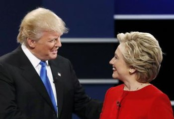 Fact checked and flustered, Trump trounced by Clinton in first presidential debate