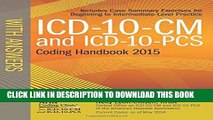 New Book ICD-10-CM and ICD-10-PCS Coding Handbook, with Answers, 2015 Rev. Ed.