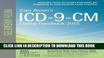 Collection Book ICD-9-CM Coding Handbook, with Answers, 2015 Rev. Ed. (ICD-9-CM Coding Handbook