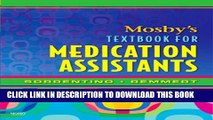 Collection Book Mosby s Textbook for Medication Assistants, 1e