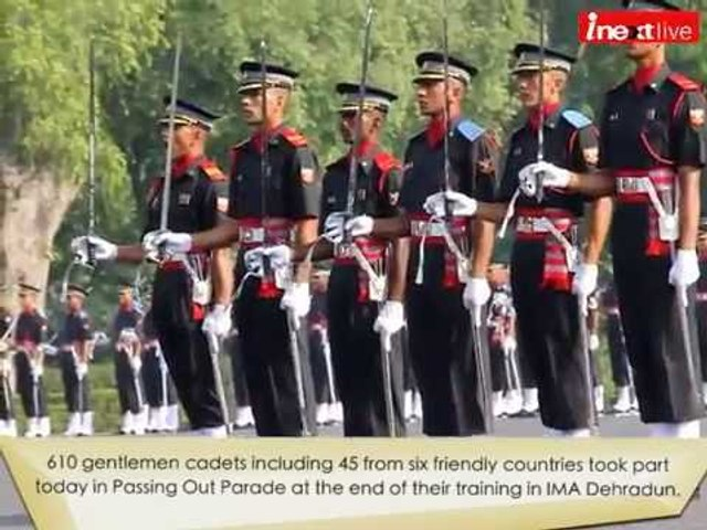 IMA Passing Out Parade 2016: 610 gentlemen cadets graduate from IMA