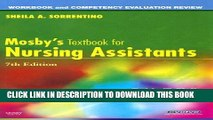 New Book Workbook and Competency Evaluation Review for Mosby s Textbook for Nursing Assistants, 7e