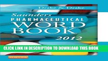Collection Book Saunders Pharmaceutical Word Book 2012, 1e