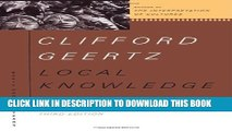 [PDF] Local Knowledge: Further Essays In Interpretive Anthropology Full Collection