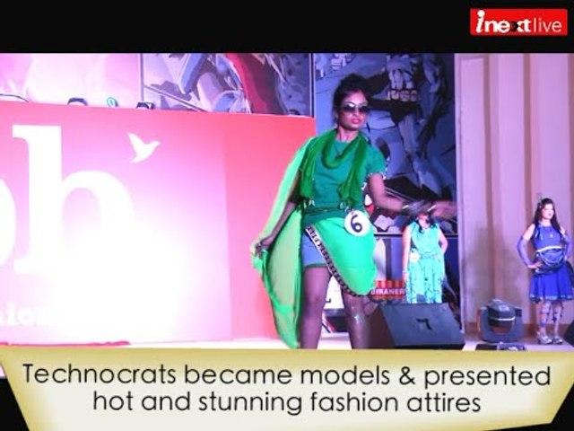 Hot fashion show at MNNIT Allahabad Annual Fest 'Culrav 2016'