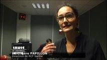 Nouveaux studios de RCF : Bérengère Papillon réagit