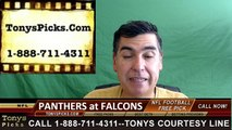 Atlanta Falcons vs. Carolina Panthers Free Pick Prediction NFL Pro Football Odds Preview 10-2-2016