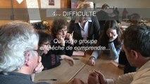 """La démarche des allumettes (Champigny sur Marne) au """"Printemps des familles"""" - atelier du GFEN avec J. Dion et P. Diard"""