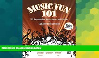 Big Deals  Music Fun 101: 101 Reproducible Music Games and Puzzles (Teacher s Handbook) (Comb