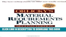 [PDF] Orlicky s Material Requirements Planning Popular Collection