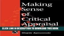 [PDF] Making Sense of Critical Appraisal (Hodder Arnold Publication) Full Colection