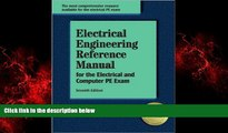 FREE PDF  Electrical Engineering Reference Manual, for the Electrical and Computer PE Exam, 7th