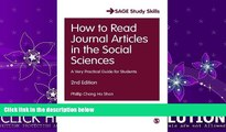 Enjoyed Read How to Read Journal Articles in the Social Sciences: A Very Practical Guide for