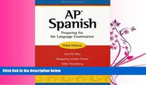 FAVORITE BOOK  AP Spanish: Preparing for the Language Examination, 3rd Edition, Student Edition