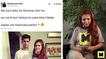 See What Momina Mustehsan Replied to Comments on Twitter