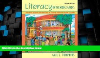 Must Have PDF  Literacy in the Middle Grades: Teaching Reading and Writing to Fourth Through