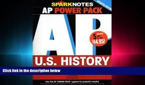 complete  AP U.S. History Power Pack (SparkNotes Test Prep)