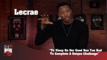 Lecrae - To Sleep On Our Good Bus You Had To Complete A Unique Challenge (247HH Exclusive) (247HH Wild Tour Stories)