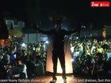 Ranchi: People enjoyed fearful fashion show